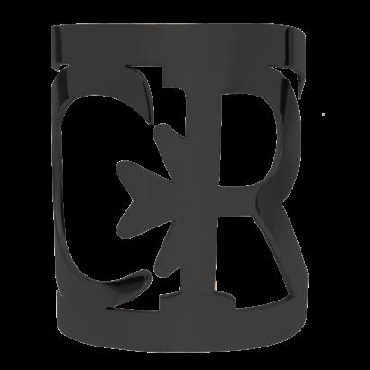 Large logo bangle