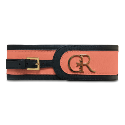 New leather waist belt