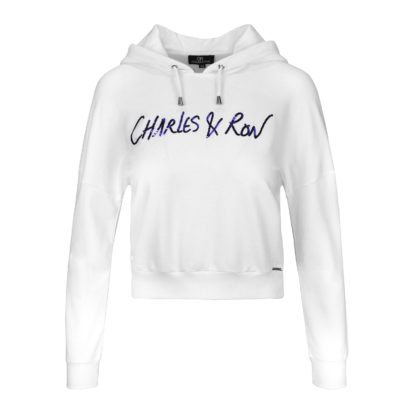 Signature cropped hoodie