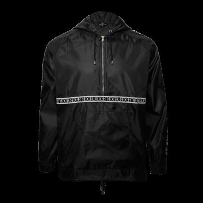 Wind breaker jacket black