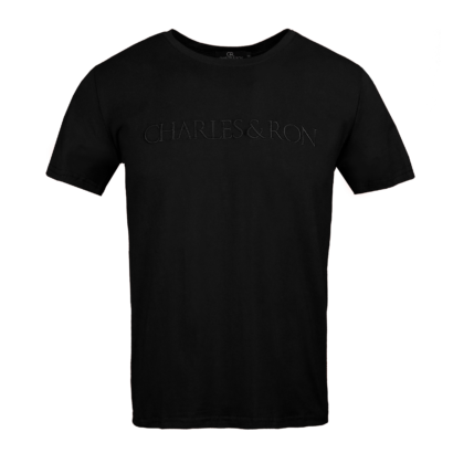 Charles & ron t-shirt full name embroidery