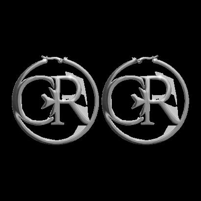Hoop earring cr logo