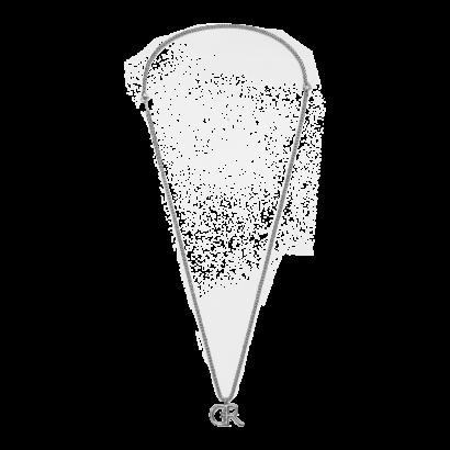 Cr logo necklace