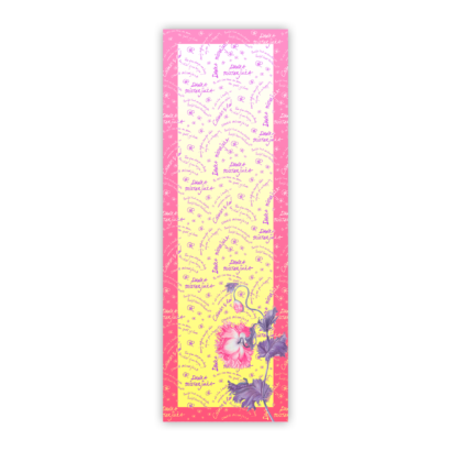 Chiffon scarf handwriting