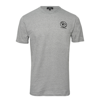 T-shirt twisted rubber logo