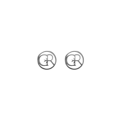 Stud earring cr logo