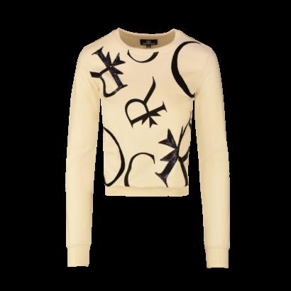 Sweatshirt cr letters