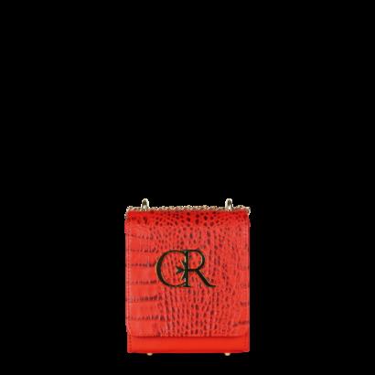 Micro queen croc bag