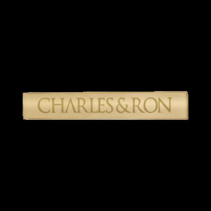 Full name logo tie clip